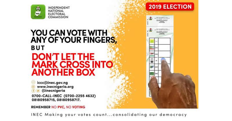 Finger-for-vote