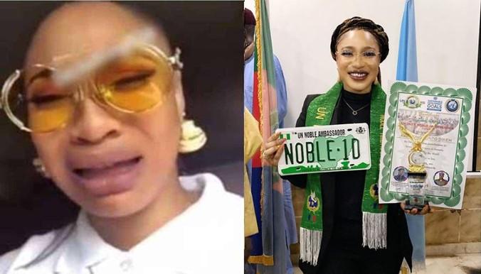 Tonto Dikeh Disgraced Again as United Nations Tag Her Ambassadorial Award  as Fake – ginnyent